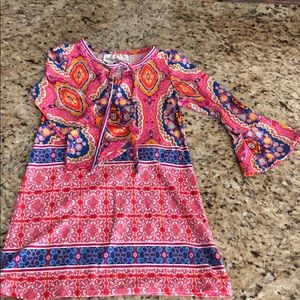 Bright, colorful toddler dress